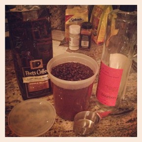 Coffee Infused Bourbon
