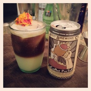 Coconut Porter Beer Cocktail