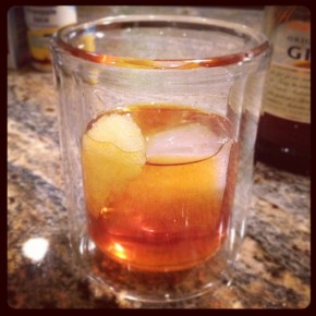 GinThaiFun | Thai tea infused Gin Old Fashioned