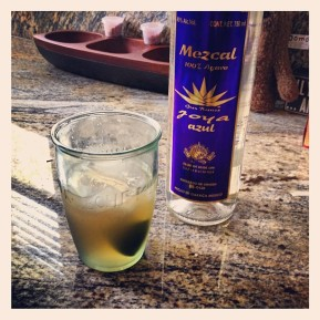 MC's Spicy Mezcal Mule