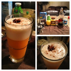 The Rama Gin Fizz (Thai Tea infused)