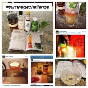 The Turn Page Challenge (#turnpagechallenge) – A social media cocktailexperiment