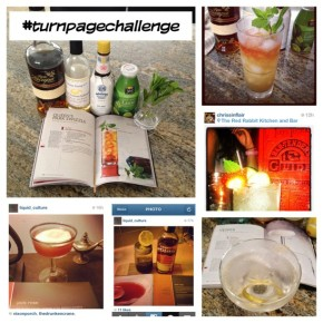 The Turn Page Challenge (#turnpagechallenge) – A social media cocktail experiment