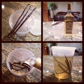 Vanilla infused Tequila