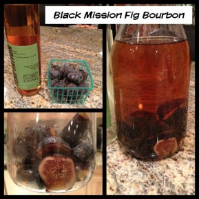 Black Mission Fig infused Bourbon