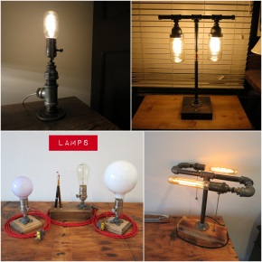 Rizzo & Crane – The Drunken Crane is now making Speakeasy influenced lamps and accessories. Support local business and artisans!