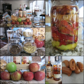 Caramel Apple Bitters – for all your fall cocktail needs!